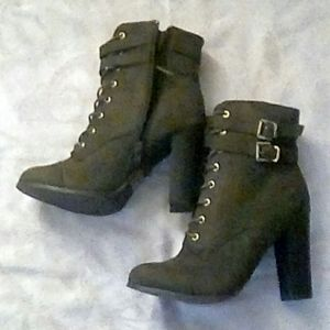 Charlotte russe boots, size 8
